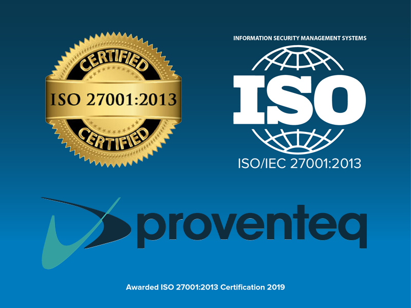 ISO, information security, certification, proventeq